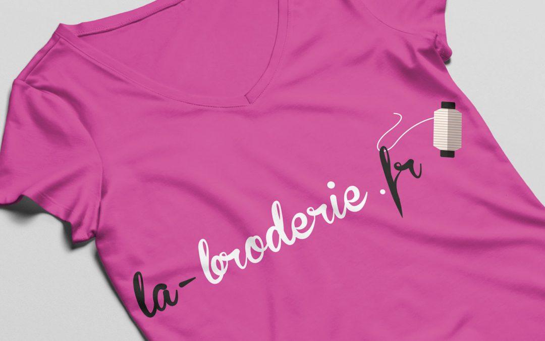 Un e-commerce pour La-Broderie.fr
