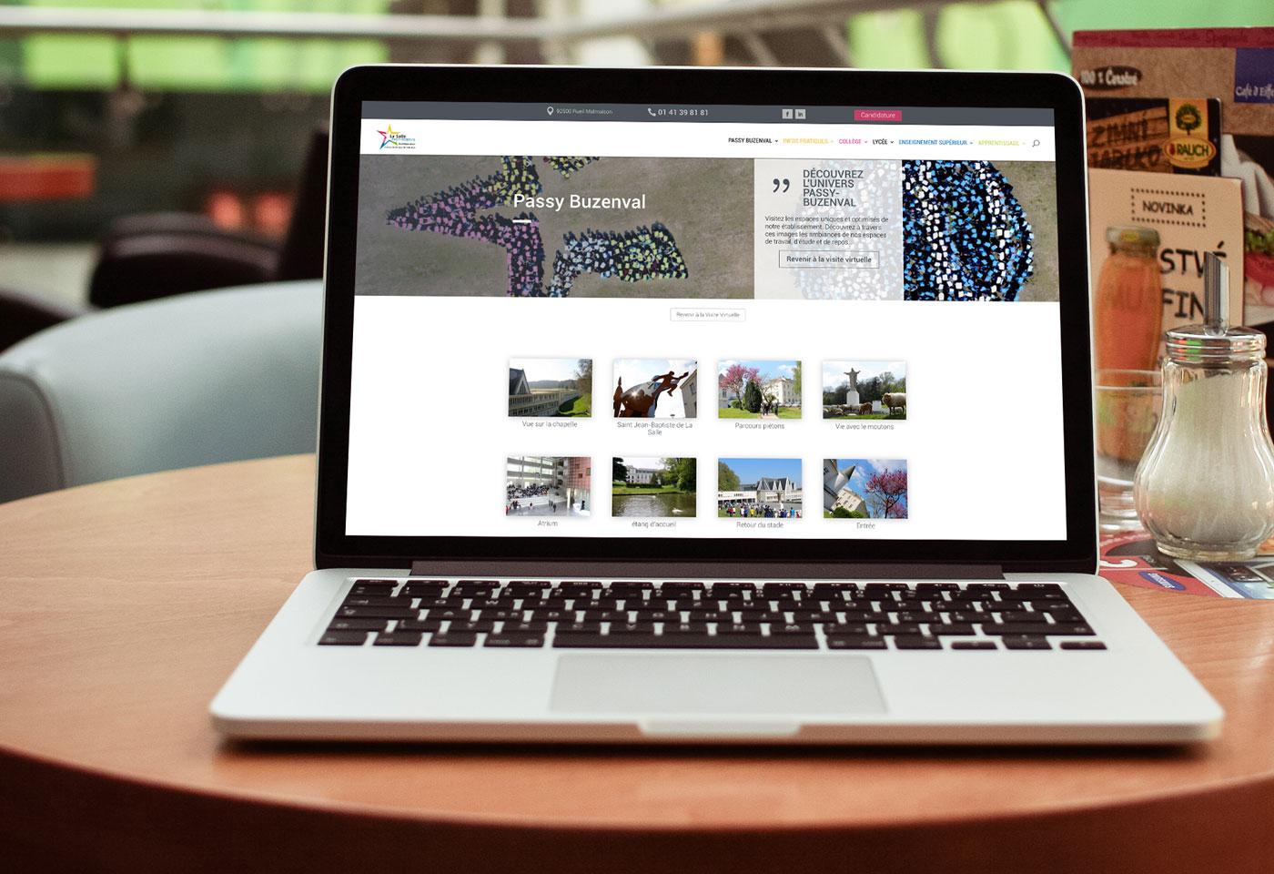 creation graphique site passy