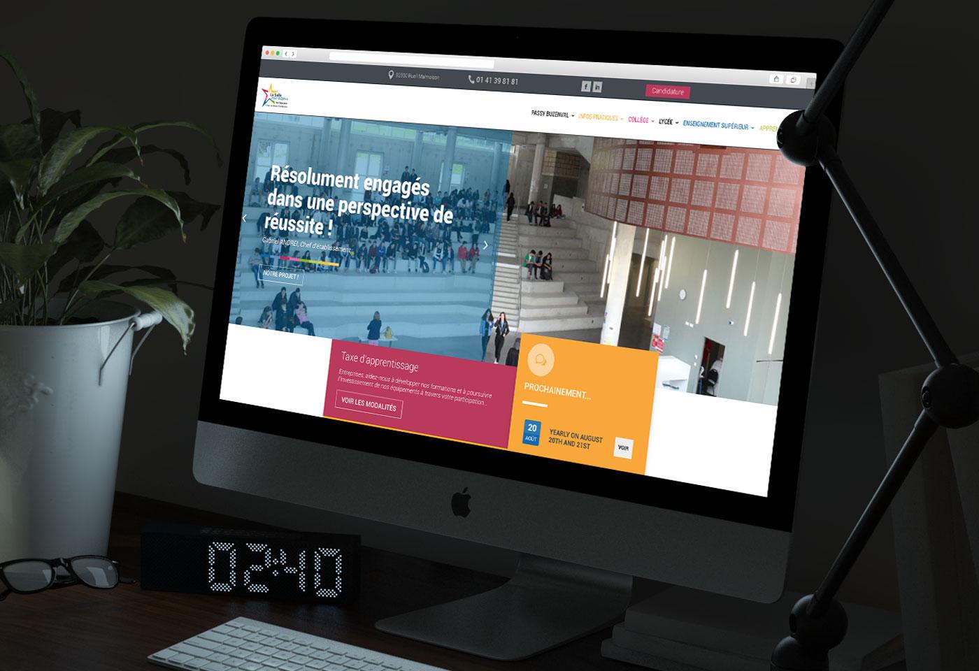 creation site web passy buzenval